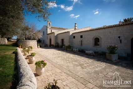 Eremo della giubiliana a ragusa sicilia for Palazzo in stile messicano