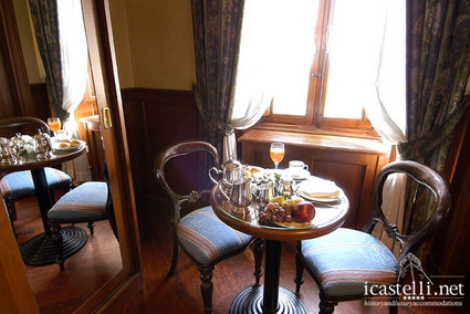 Deluxe room in the tower