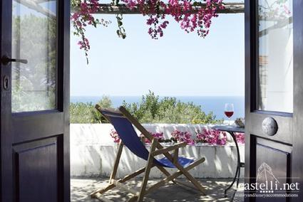 Chambre double Deluxe avec terrasse et vue mer