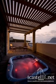 Suite terrace sea view with Jacuzzi
