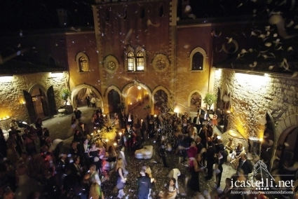 Castello di Xirumi Serravalle Wedding