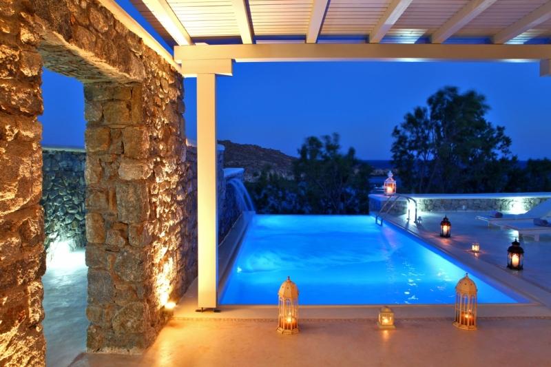 Casa del mar mykonos seaside resort alberghi con - Hotel con piscina privata grecia ...
