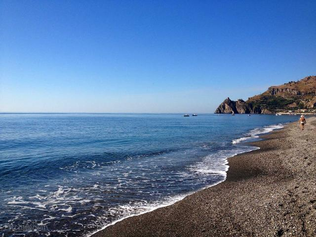 Sant'Alessio Siculo - Taormina Küste