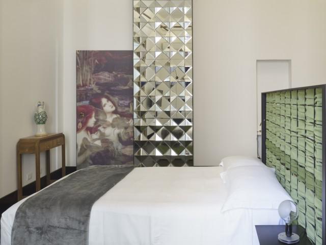 Aci e Galatea - Junior Suite Art Room con balcone, letti singoli