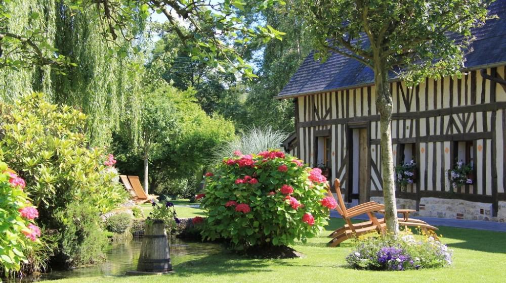Auberge de la source honfleur normandie for Auberge le jardin de la source