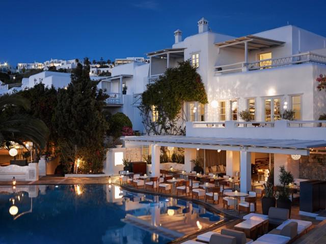 h tels de luxe en iles cyclades h tels de charme avec spa. Black Bedroom Furniture Sets. Home Design Ideas