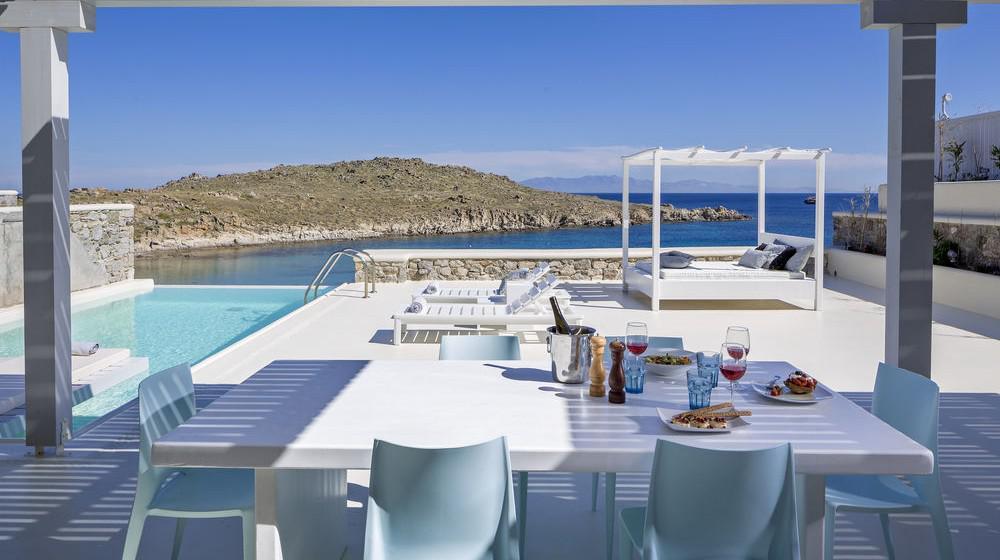 casa del mar mykonos seaside resort mykonos iles cyclades. Black Bedroom Furniture Sets. Home Design Ideas