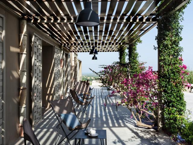 Camera Superior vista giardino