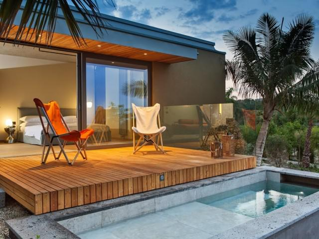 Romantic Lodge with outdoor heated relaxation tub