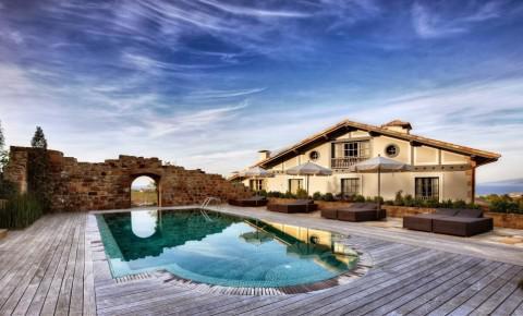 H tels de luxe en pays basque h tels de charme avec spa for Hoteles con encanto cerca de madrid con piscina