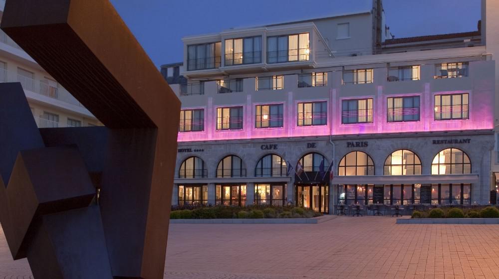 Hotel Cafe De Paris Biarritz Booking