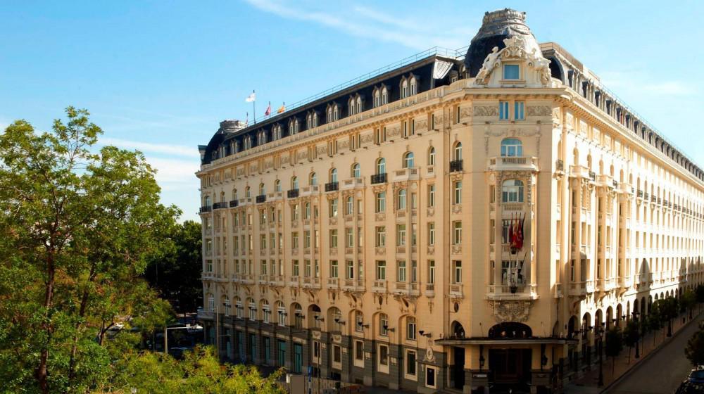 Hotel The Westin Palace Madrid In Madrid Madrid