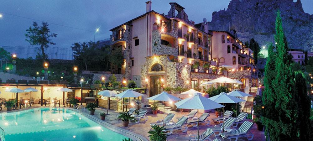 Hotel villa sonia a taormina sicilia for Hotel villa taormina