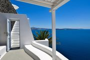 Katikies Suite with open air Jetted tub & Caldera View