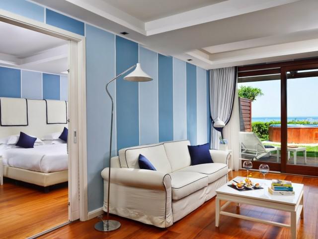 Suite de 2 dormitorios con vistas al mar