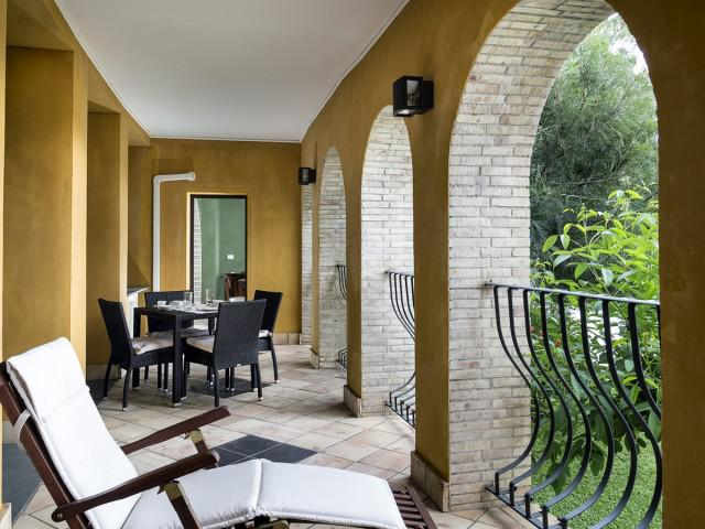 Apartamento de 1 dormitorio, 'Etna' con terraza, vista al mar y Etna, piso de la piscina