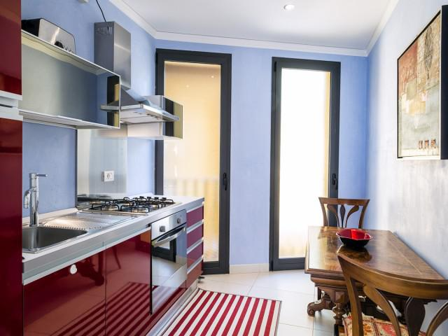Apartamento de 1 dormitorio, Mediterraneo con terraza, vista al mar y Etna