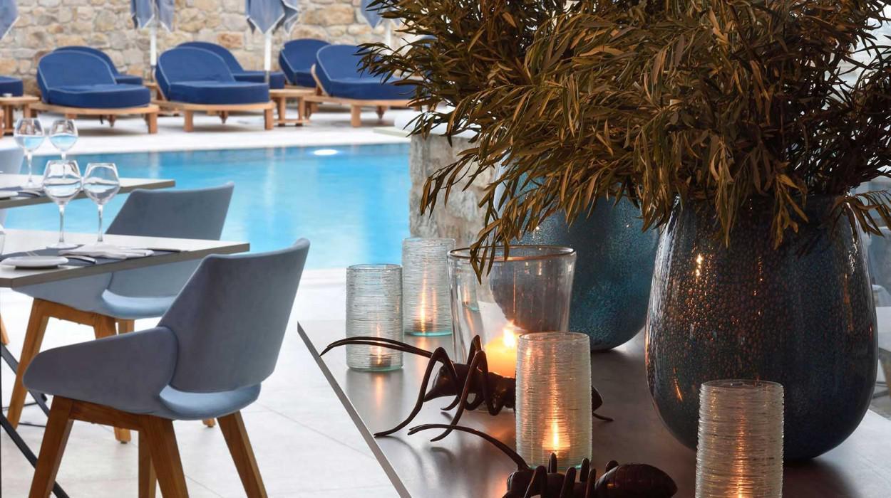 Myconian Kyma, Design Hotel