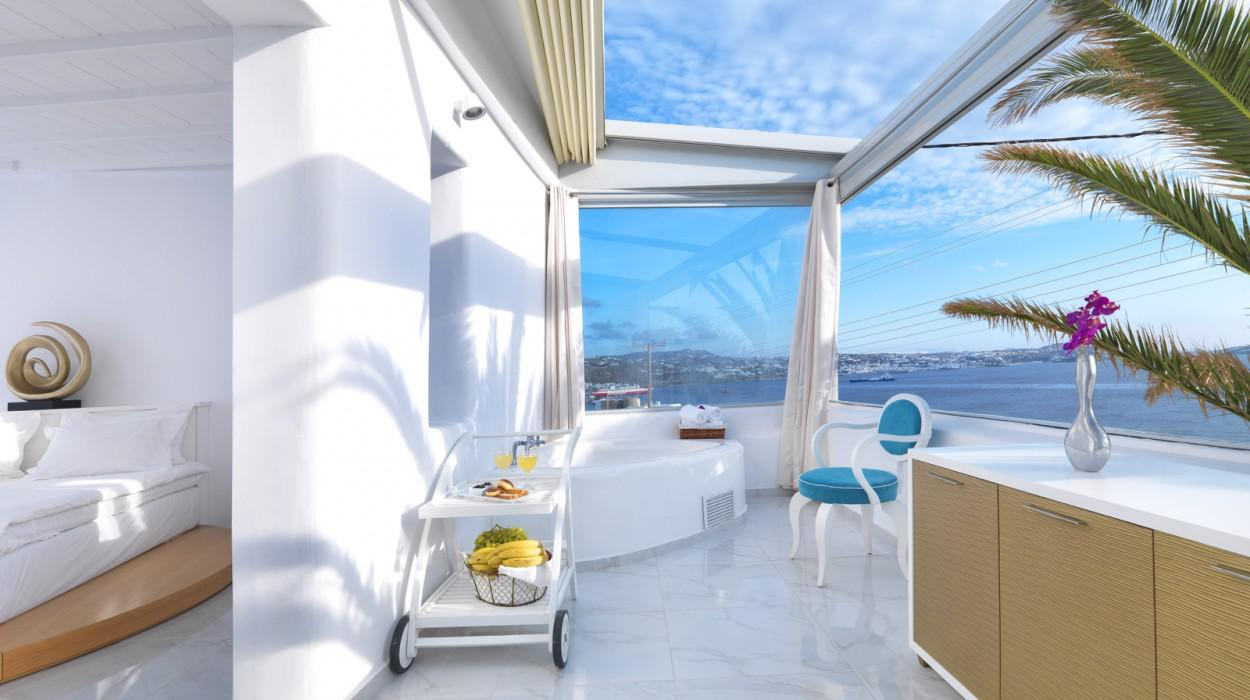 Mykonian mare luxury boutique hotel in mykonos cyclades for Luxury boutique accommodation