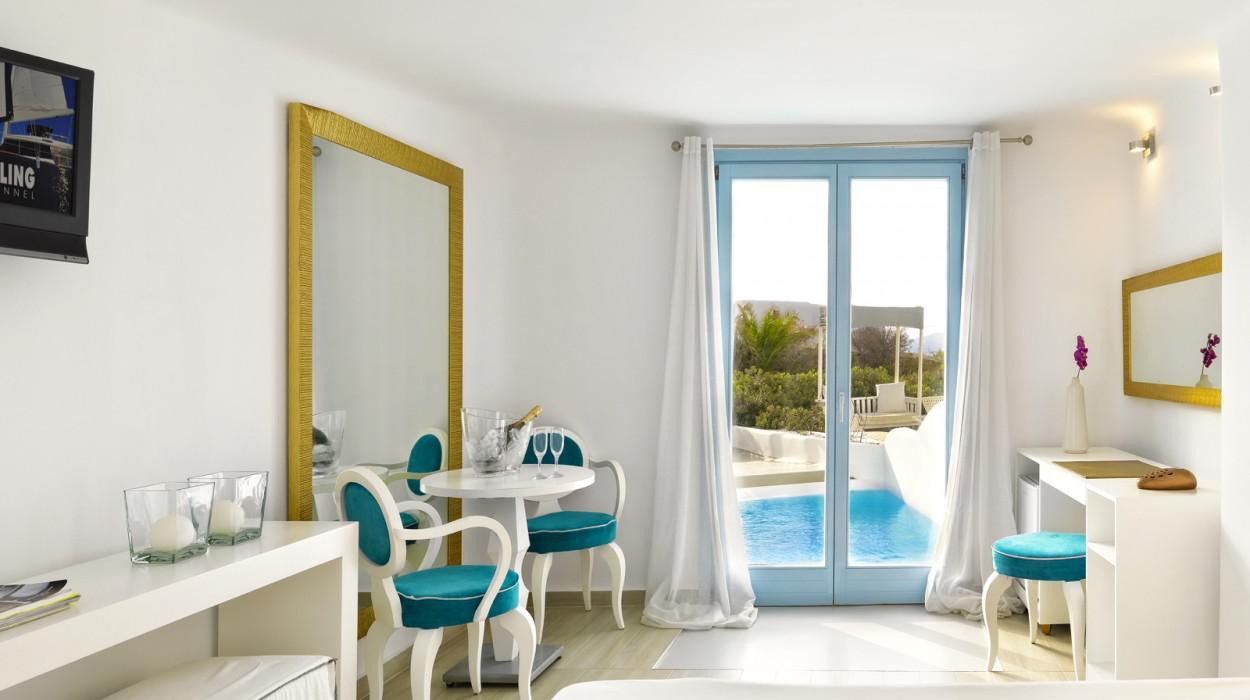 Mykonian mare luxury boutique hotel in mykonos kykladen for Luxury boutique accommodation