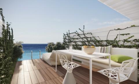 h tels de luxe mykonos h tels de charme avec spa. Black Bedroom Furniture Sets. Home Design Ideas