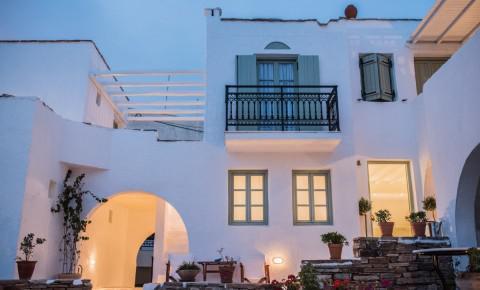 Hotel di lusso a naxos naxos chora alberghi di charme e spa for Palazzo in stile messicano