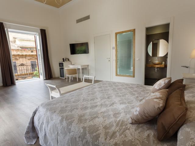 Suite King con Balcon
