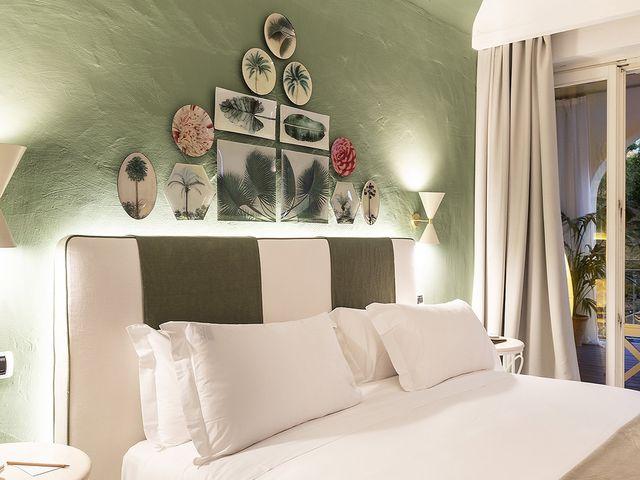 Superior Zimmer mit terrasse und Garten Blick