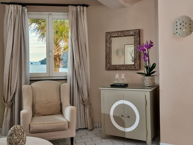Junior suite balcone vista mare