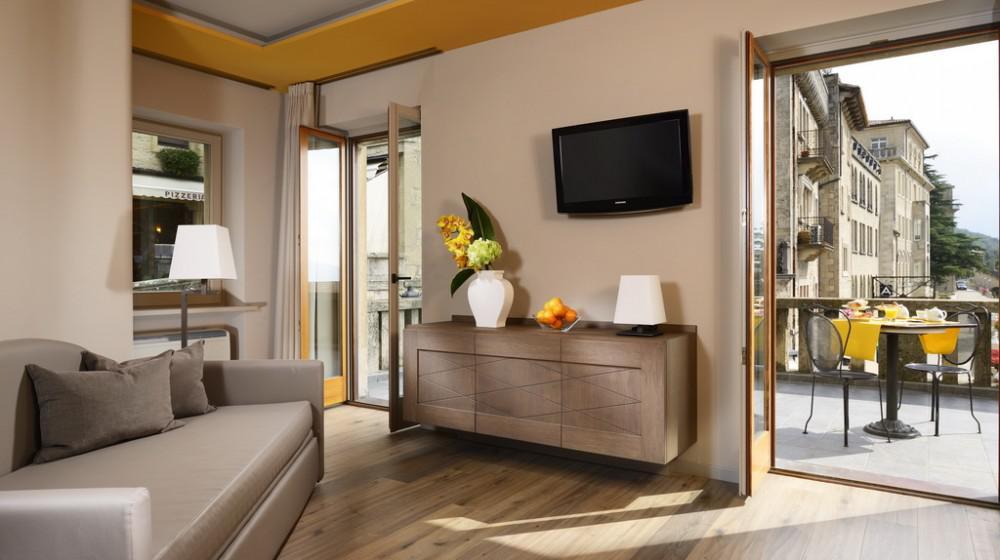 Titano Suites Hotel a San Marino Centro, San Marino Città
