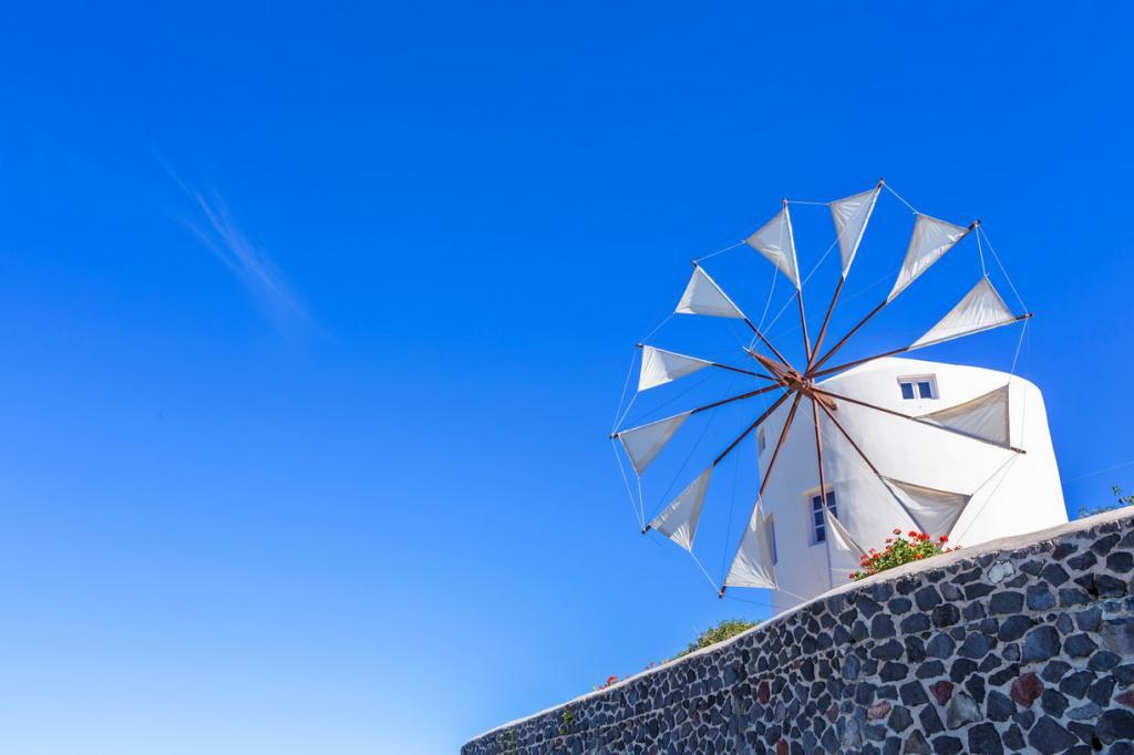 Schlafen in der Windmühle