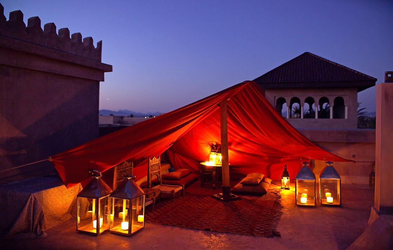 Großartige Riads und Kasbah