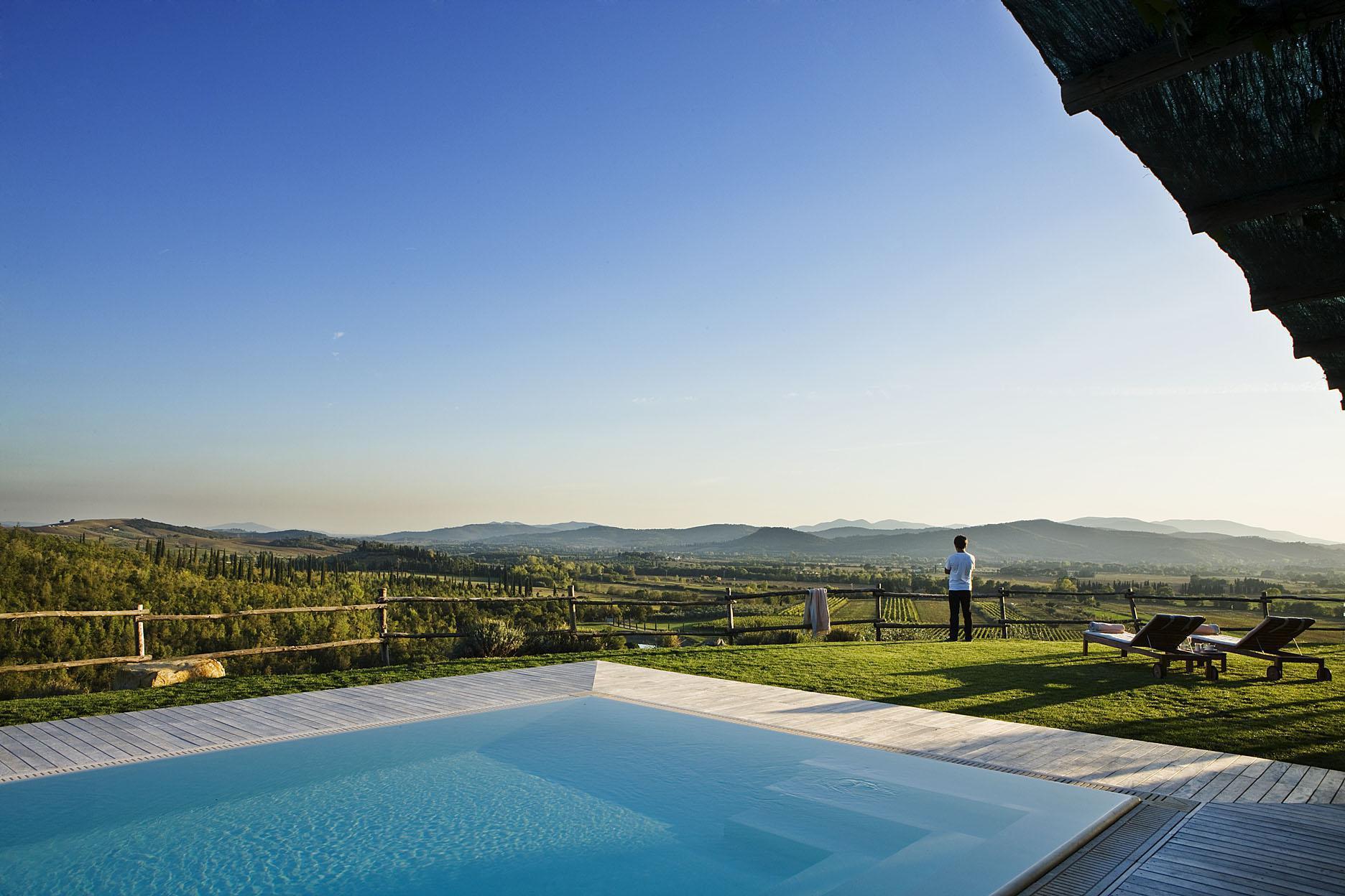 Hoteles exclusivos entre Viñedos y Vino
