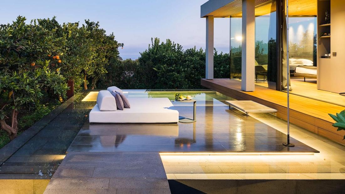 Zimmer und Suiten mit privatem Pool