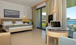 Junior Suite with balcony overlooking the sea and the Aeolian Islands