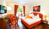 Small Castle or Residence bedroom - view vineyards