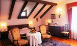 Our De Luxe double rooms at the Castle: